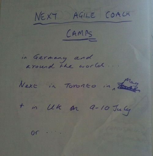 NextAgileCoachCamp1